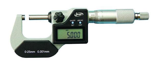 Mikrometer Digital Bügelmessschraube Micrometer Messschraube Messbereich 25-50mm